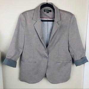 Nicole Miller Grey Blazer Size L